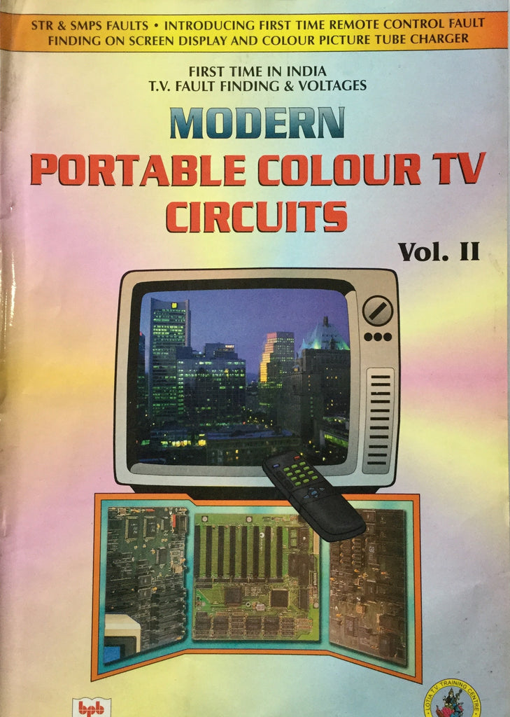 Modern Portable Colour Television Circuits Vol. 2