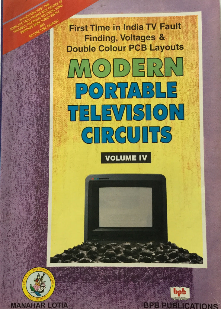Modern Portable Television Circuits volume 4