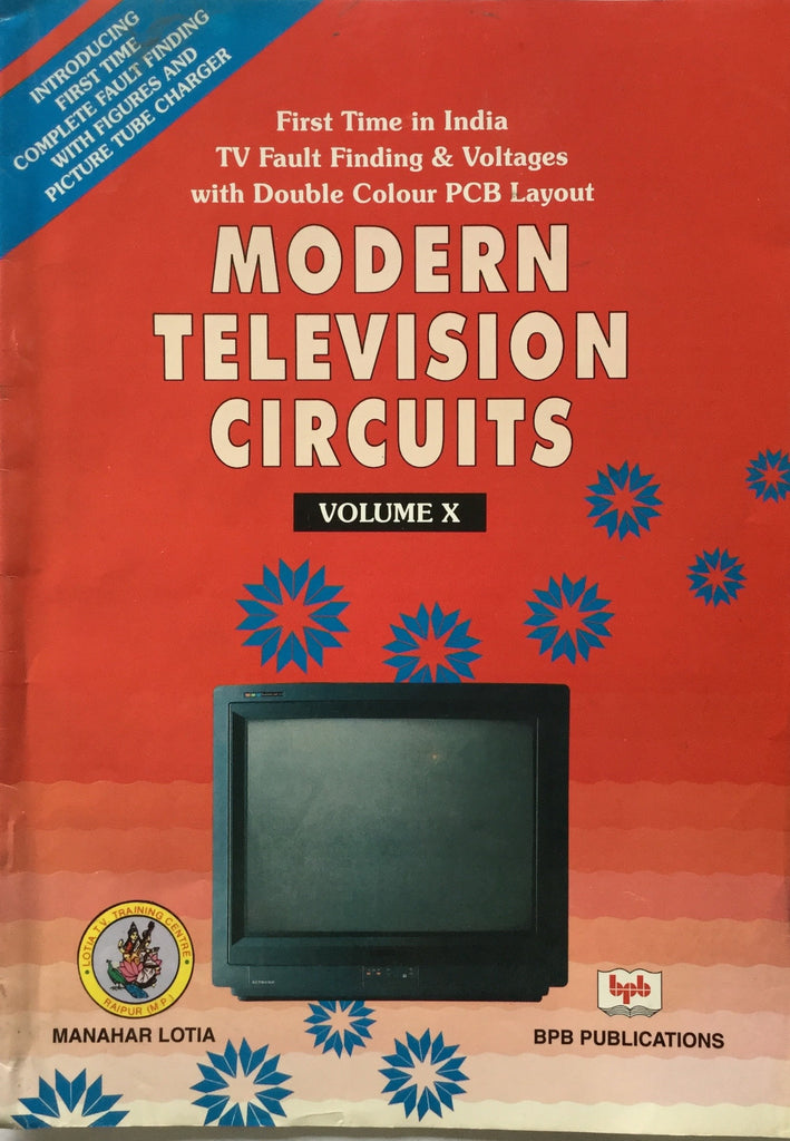 Modern Television Circuits Vol. 10 buy online books