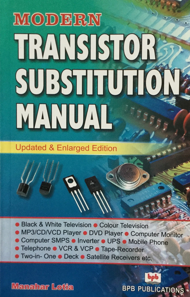 Modern Transistor Substitution Manual books