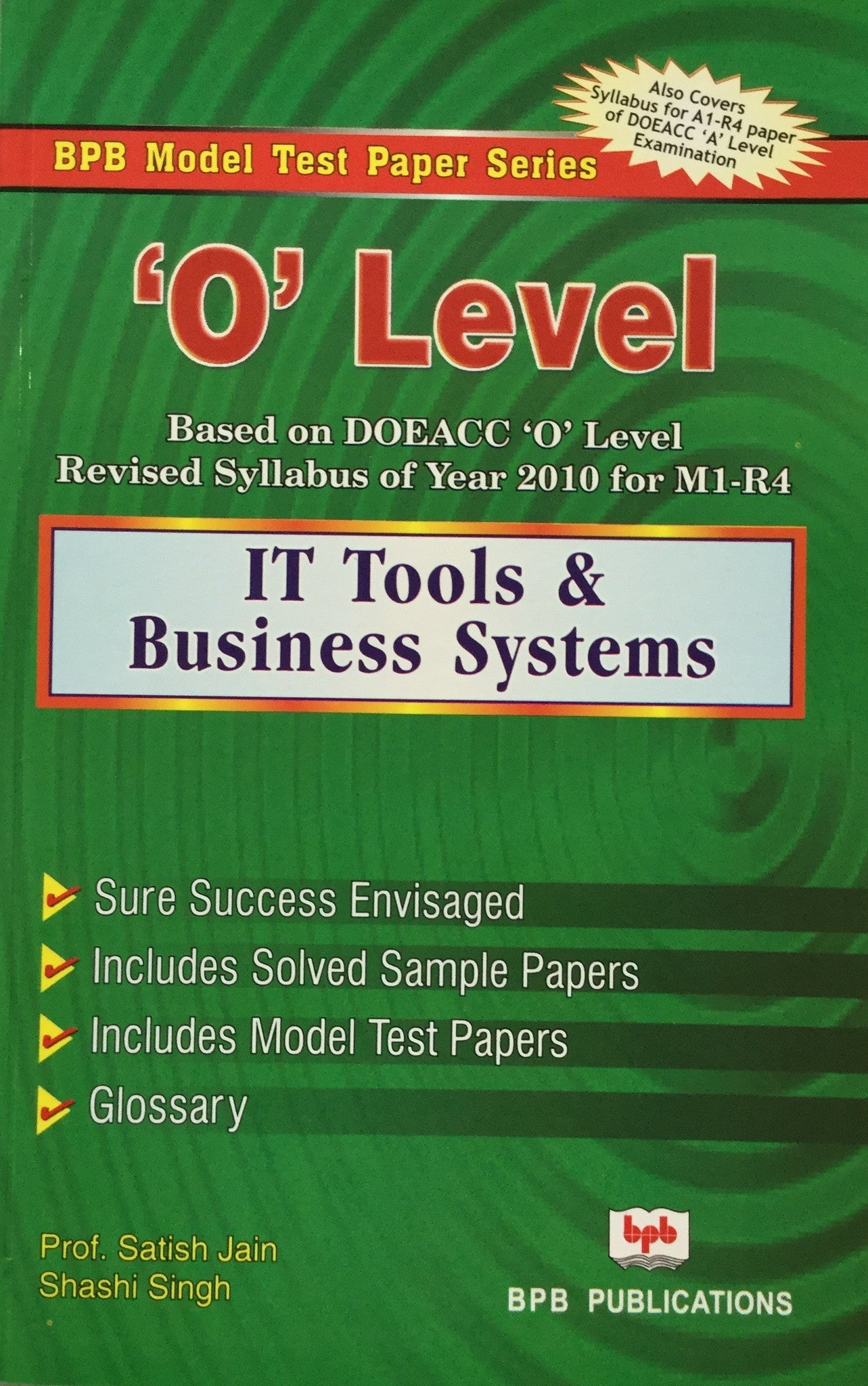 model test papers o level it tools business systems by prof model test papers