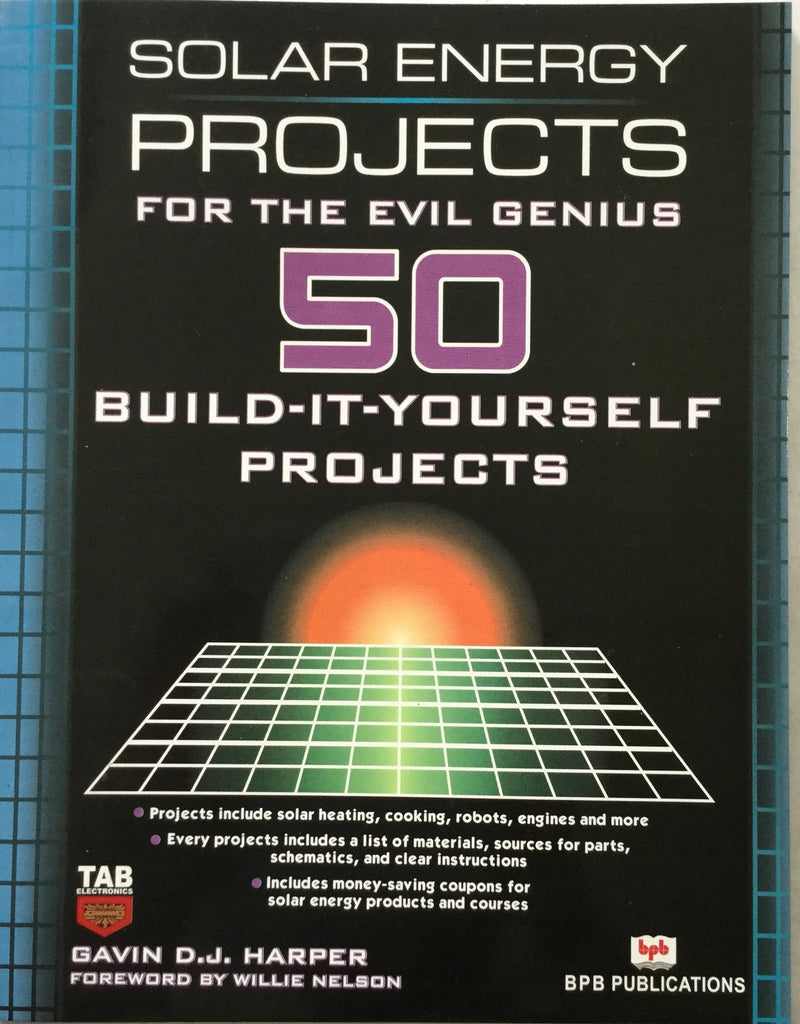 Solar Energy Projects 50 Build books