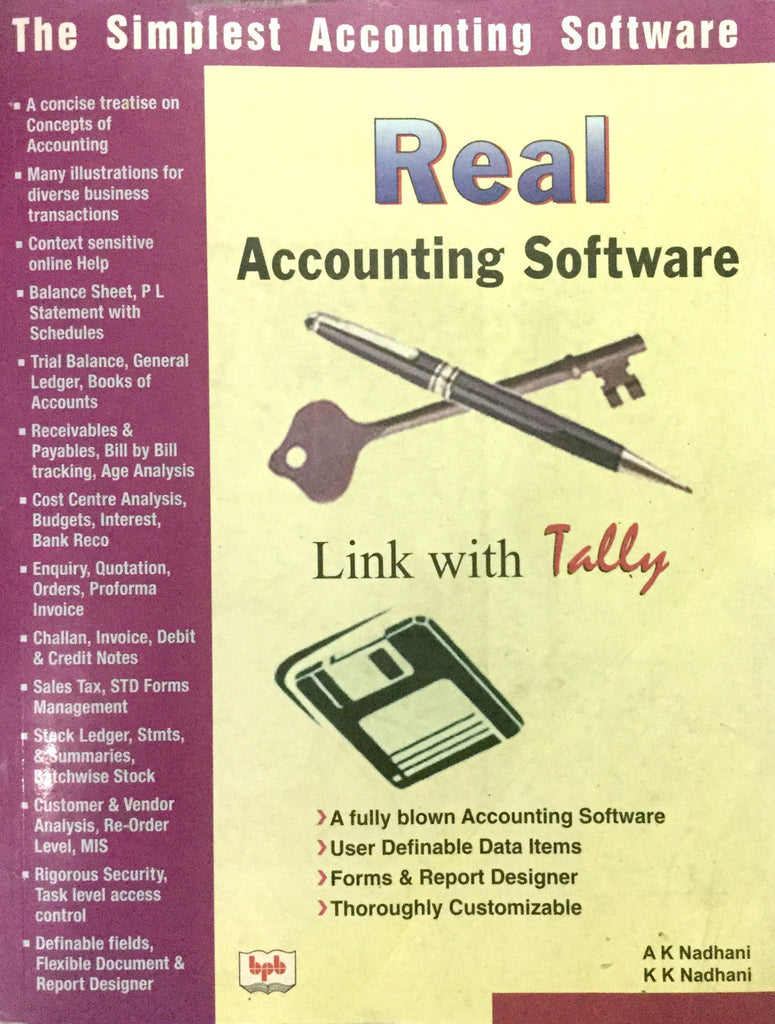 Real Accounting Software books