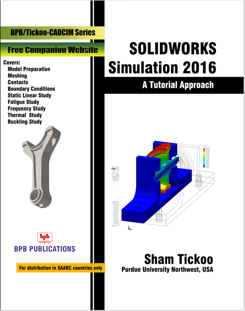 Solidworks Simulation 2016 By Prof. Sham Tickoo