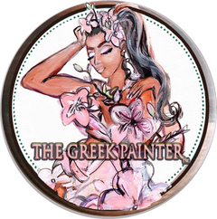 THE GREEK PAINTER by ALong Artworks Co.