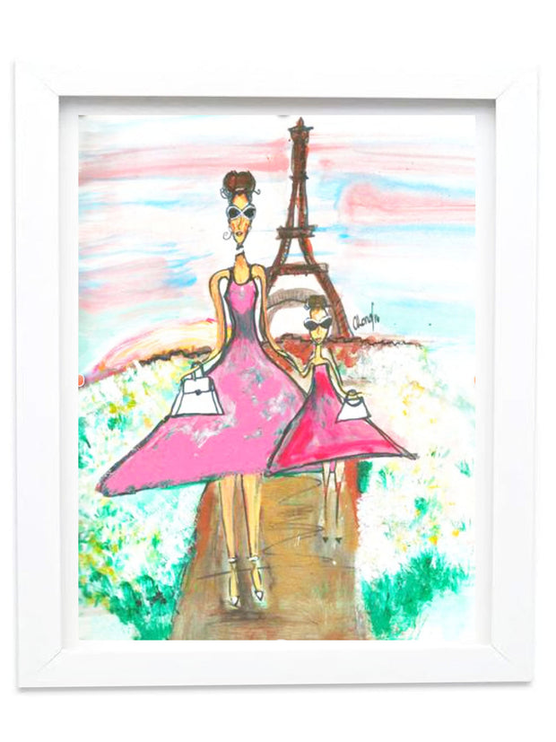 """DAY IN PARIS"" 2016 ARCHIVAL SIGNED GICLEE PRINT"