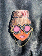 Get Fab Girl Chic Brooch