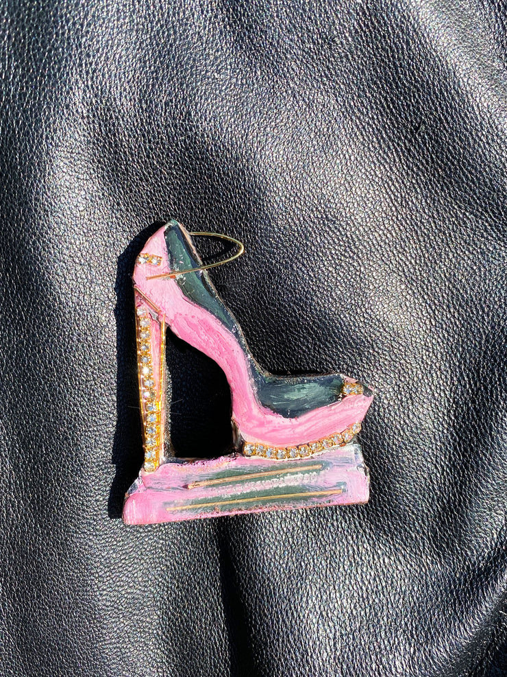 Get Fab Chic High Heel Brooch