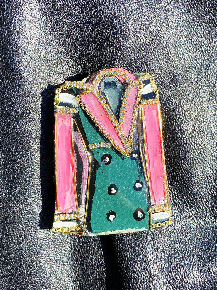Get Fab Chic Trench Brooch
