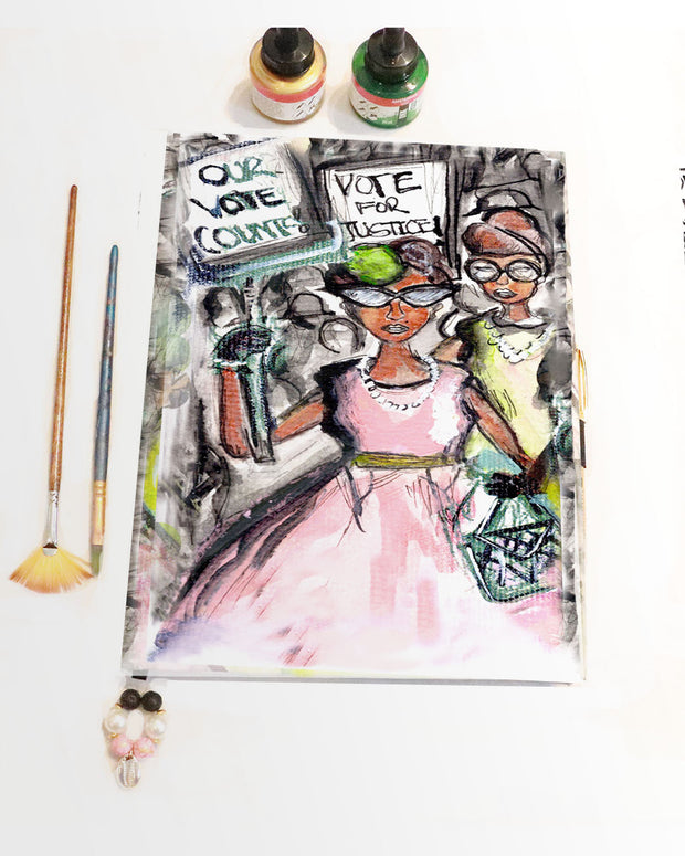 IVIES FOR CHANGE™ Scrapbook Journal Edition