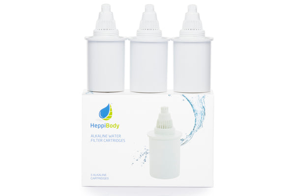 Alkaline Filter (3) - White - Heppi