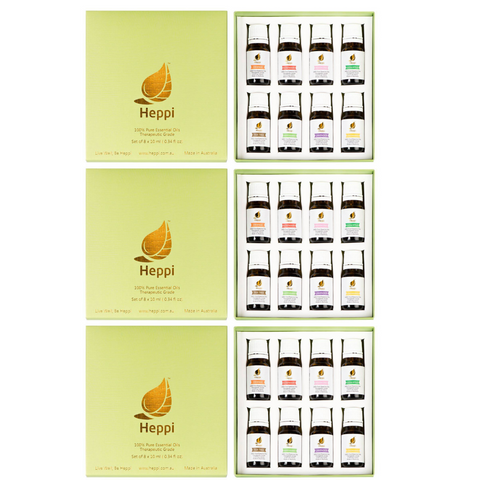 Heppi Essential Oils Gift Pack - Buy 2, Get 1 FREE