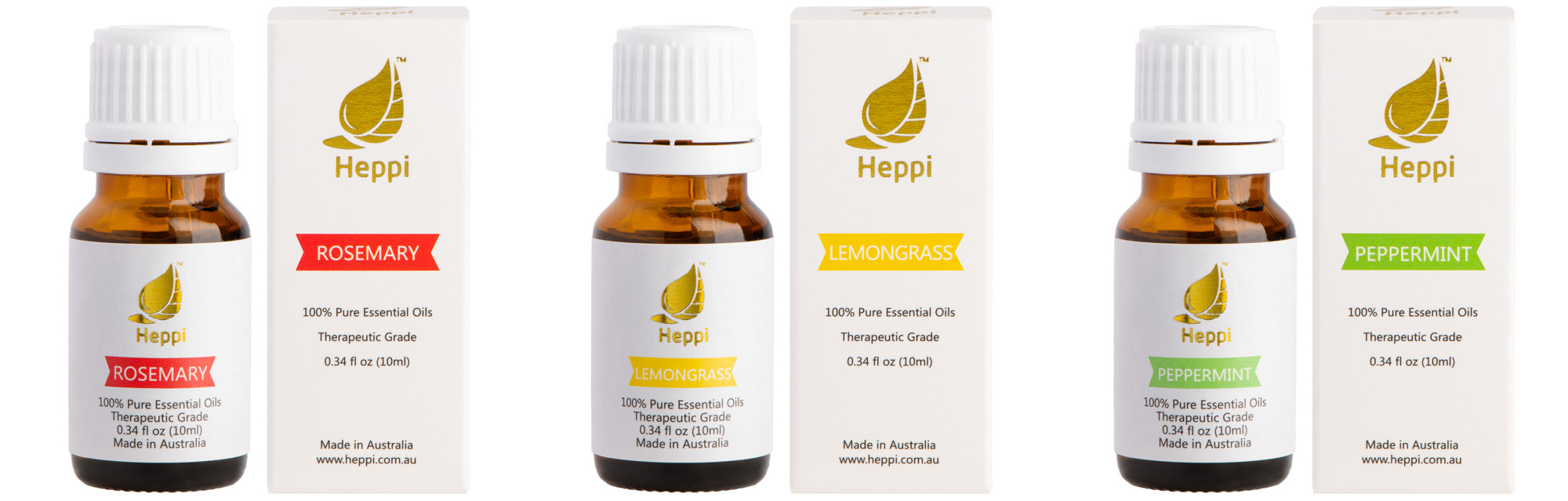 Essential Oil Combinations - Heppi
