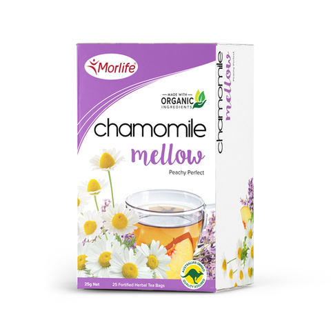 Chamomile Mellow Tea - Morlife - 25 Tea Bags