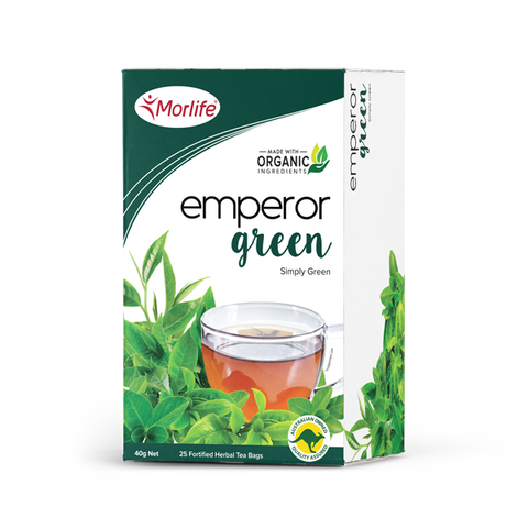 Emperor Green Tea - Morlife - 25 Tea Bags