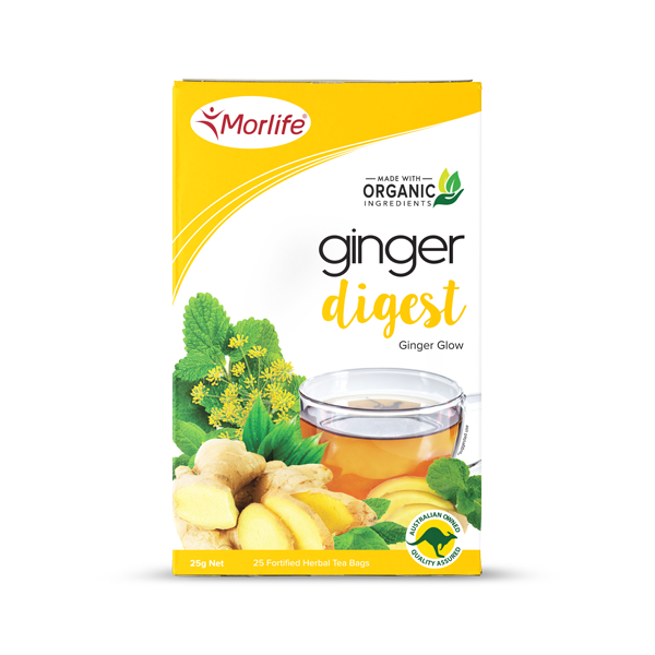 Ginger Glow Tea - Morlife - 25 Tea Bags