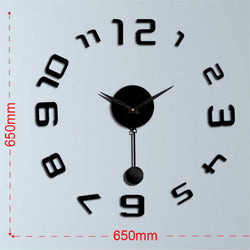 "Wandtattoo Uhr - ""London"""