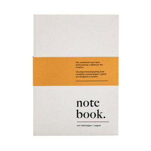 A5 Notebook (Pack of 3)