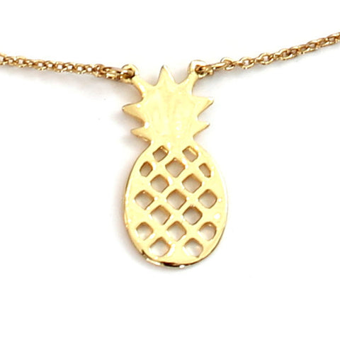 Golden Pineapple Necklace