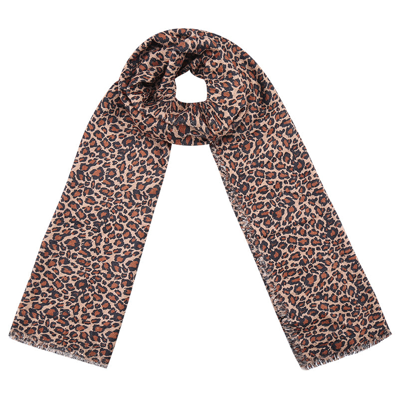 Perfect Leopard Scarf