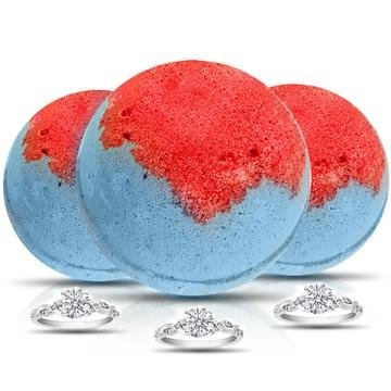 SUZIE Q Ring Bath Bomb 3 Pack