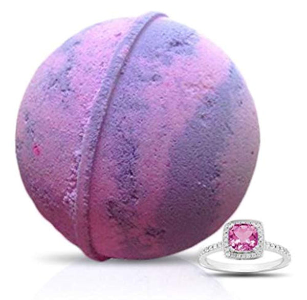 Cotton Candy Ring Bath Bomb by Soapie Shoppe