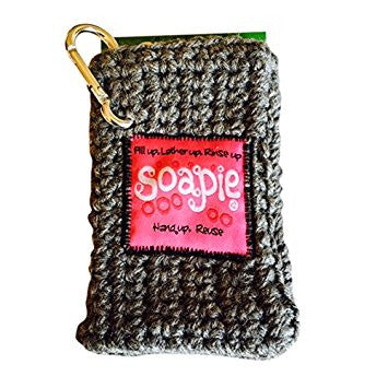 Hot Pink & Heather Soapie, Soap Saver Soap Sack