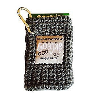Silver Stream & Heather Soapie, Soap Saver Soap Sack