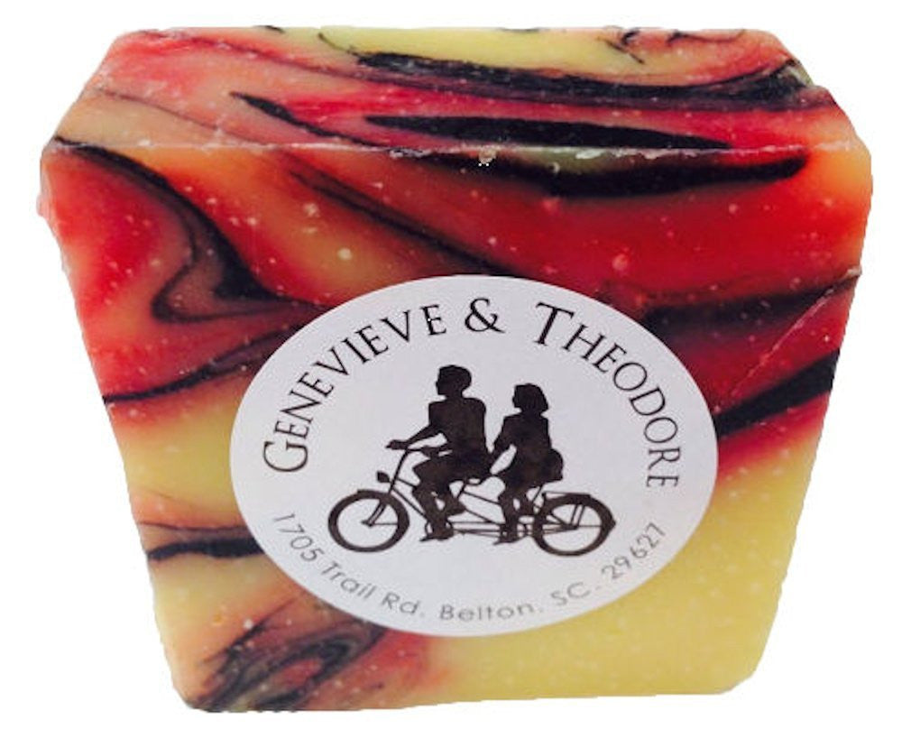 Sunflower for Men 5 oz. Luxe Bar Soap by Soapie Shoppe