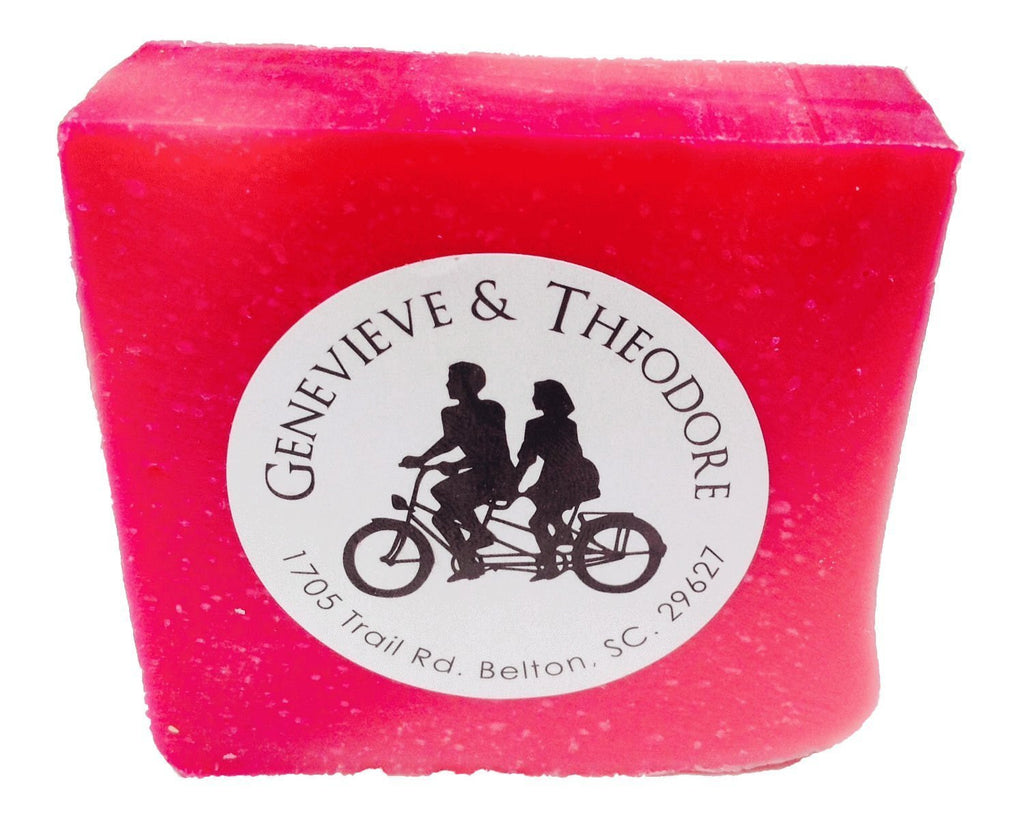Raspberry Spearmint Luxe 5 oz. Bar Soap by Soapie Shoppe