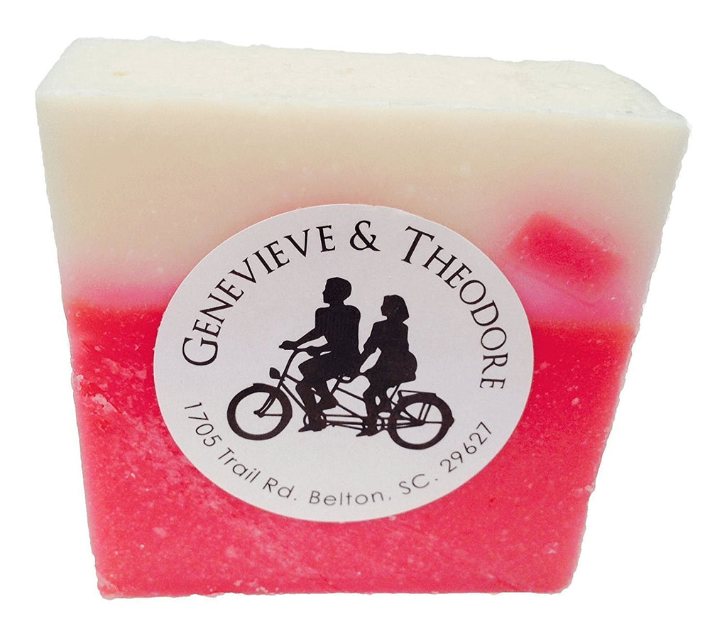 Raspberry Rush LUXE Bar Soap by Soapie Shoppe