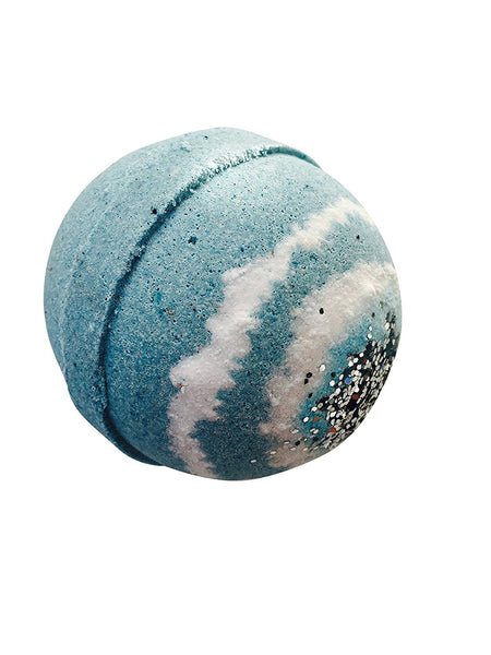 Silver Stream and Vintage Bath Bomb by Soapie Shoppe, 7 - 8 oz. Extra Large Bath Bomb