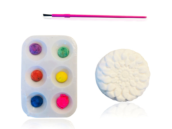 DIY Bath Bombs - WILD CHILD - Paintable Bath Bomb by Paint-a-Bath