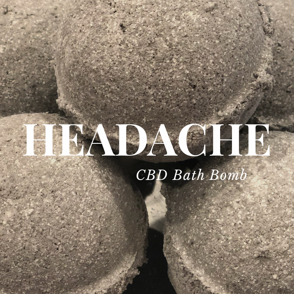HEADACHE Bath Bomb Treatment SET OF SIX