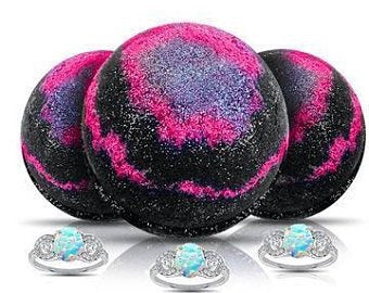 Galaxy Ring Bath Bomb 3 Pack