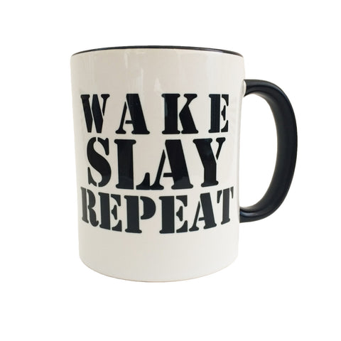 Wake Slay Repeat Mug