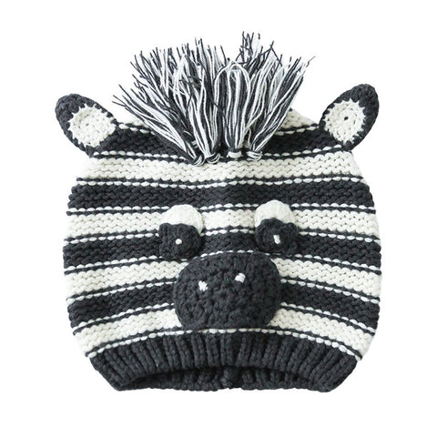 Animals baby hat