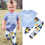 Mama's boy 2 pieces clothing set