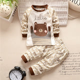 Hello bear 2 pieces clothing set