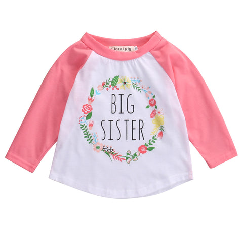 Big sister long sleeve shirt