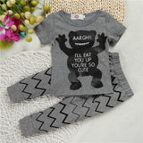 Animals 2 pieces clothing set