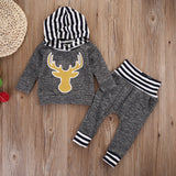 Deer 2 pieces clothing set