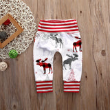 Trendy deer baby pants