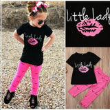 Little Lady 2 pieces clothing set