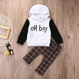 Oh boy 2 pieces clothing set