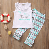 Mommy is my bestie 2 pieces clothing set