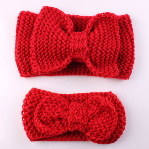 2Pcs/set mom and baby matching headband