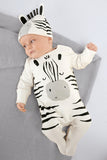 Zebra jumpsuit and hat