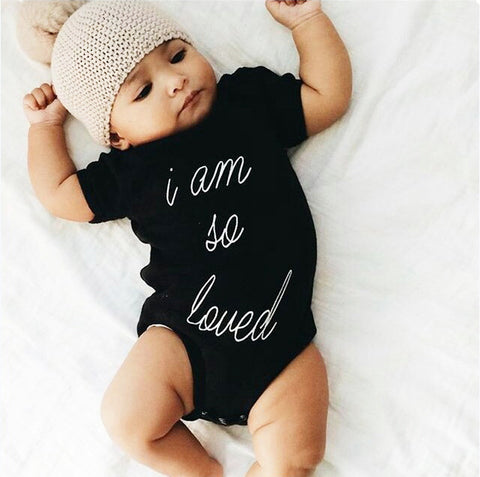 I am so loved baby romper - BabyRebate