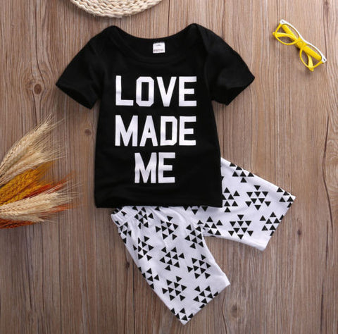 Love made me baby clothing set - BabyRebate